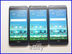 Lot of 3 HTC Desire 626s & 625 Cricket Smartphones GSM AS-IS