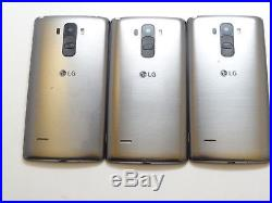 Lot of 3 LG G Stylo H631 16GB T-Mobile Smartphones AS-IS GSM