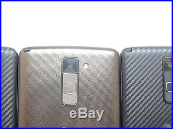 Lot of 3 LG Stylo 2 Plus MS550 Metro PCS Smartphones AS-IS GSM