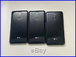 Lot of 3 LG Stylo 4 LM-Q710US Xfinity Mobile 32GB Samrtphones AS-IS GSM