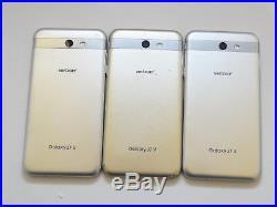 Lot of 3 Samsung Galaxy J7 V SM-J727V Verizon & GSM Unlocked Smartphones AS-IS