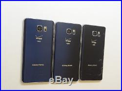 Lot of 3 Samsung Galaxy Note 5 SM-N920V Verizon Unlocked Smartphones AS-IS GSM ^