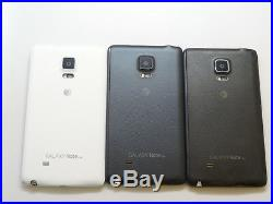 Lot of 3 Samsung Galaxy Note Edge SM-N915A AT&T 32GB Smartphones AS-IS Parts GSM