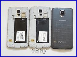 Lot of 3 Samsung Galaxy S5 T-Mobile SM-G900T 16GB Smartphones AS-IS GSM #