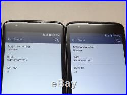 Lot of 4 LG K7 K330 8GB T-Mobile Smartphones AS-IS GSM