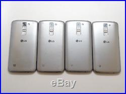 Lot of 4 LG K7 MS330 MetroPCS & GSM Unlocked 8GB Smartphones AS-IS