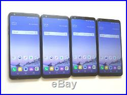 Lot of 4 LG Stylo 4 LM-Q710MS 32GB MetroPCS Smartphones AS-IS