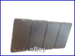 Lot of 4 Motorola Droid Maxx XT1080 Verizon Unlocked Smartphones AS-IS