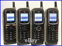 Lot of 4 Motorola i365 Unlocked IDEN Direct Talk Cell Phones