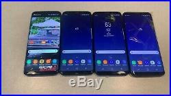 Lot of 4 Samsung Galaxy S8 G950U 64GB Sprint Smartphone Parts & Repair Wholesale