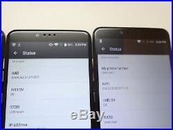 Lot of 4 ZTE ZMax Pro Z981 32GB Smartphones 3 T-Mobile & 1 MetroPCS AS-IS GSM #