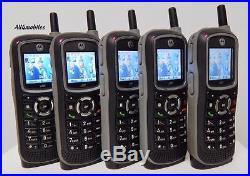Lot of 5 Motorola i365 Unlocked IDEN PTT Nextel Cell Phones GRID Iconnect