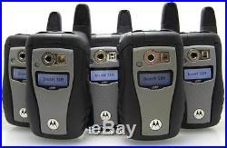 Lot of 5 Motorola i580 IDEN PTT Cell Phones Unlocked Nextel, Grid, Iconnect