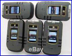 Lot of 5 Motorola i680 Nextel IDEN PTT Cell Phones Unlocked Telus Grid Iconnect