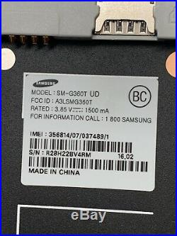 Lot of 5 Samsung Galaxy Core Prime G360T T-mobile Smartphones As-Is