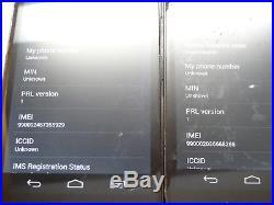 Lot of 6 Motorola Droid Razr Maxx HD XT926 Verizon Unlocked Smartphones AS-IS