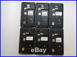 Lot of 6 Samsung Galaxy Note Edge SM-N915T T-Mobile Unlocked Smartphones AS-IS