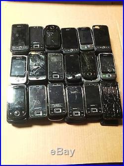 (Lot of 77) Genuine Huawei Phone damaged/ broken