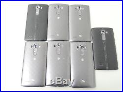 Lot of 7 LG G4 H810 32GB AT&T Smartphones AS-IS GSM