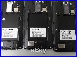 Lot of 7 LG G4 Verizon & GSM Unlocked 32GB Smartphones AS-IS