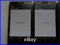 Lot of 7 Motorola Droid Razr Maxx HD XT926 Verizon Unlocked Smartphones AS-IS