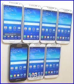 Lot of 7 Samsung Galaxy S4 SCH-I545 16GB Verizon Unlocked
