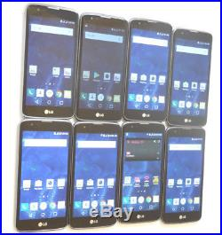 Lot of 8 LG K7 K330 5 T-Mobile Smartphones AS-IS 5 GSM Parts #