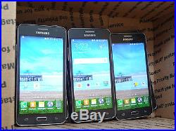Lot of 8 Samsung Galaxy Grand Prime SM-S920L TracFone Smartphones PowersOn AS-IS