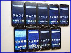 Lot of 9 LG K7 K330 6 T-Mobile Smartphones AS-IS Parts