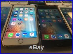 Lot of 9 T-Mobile iPhone 6, 6 Plus & 6S 100% CLEAN ESN