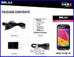 Lot of Blu Dash Music Jr D390 Android 4.4 2G HD Unlocked Phone 10 PCS Wholesale