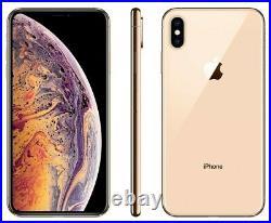 NEW Apple iPhone XS Max 256GB Gold Unlocked Verizon AT&T T-Mobile Cricket