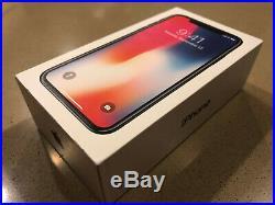 NEW Apple iPhone X 64GB Space Gray Unlocked ATT T-Mobile Verizon Metro PCS