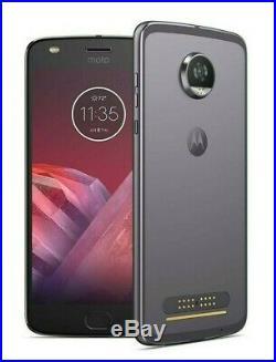 NEW Motorola Moto Z2 Play 4G LTE (FACTORY UNLOCKED) 32GB Smartphone XT1710-01