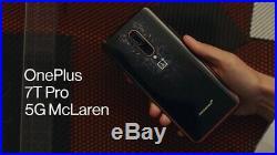 NEW OnePlus 7T Pro 5G MCLAREN GSM Unlocked T-Mobile AT&T Cricket Metro