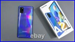 NEW SAMSUNG GALAXY A21s SM-A217F/DS DS Factory Unlocked Dual Sim 32GB BLUE NEW