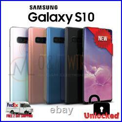 NEW Samsung GALAXY S10 BLACKWHITEBLUEPINKUnlockedAT&TVerizonTMobile