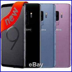 NEW Samsung GALAXY S9 64GB (SM-G960U1, Factory Unlocked GSM+CDMA) All colors