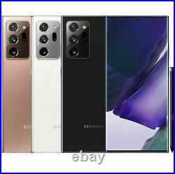 NEW Samsung Galaxy NOTE 20 Ultra 5G Unlocked (SM-N986U1, US Model) 28/512GB