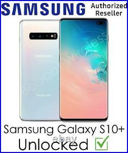 NEW Samsung Galaxy S10+ Plus White Sprint AT&T T-Mobile Verizon Factory Unlocked