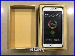 NEW Samsung Galaxy S5 SM-G900A/T 16GB White Unlocked Smartphone T-Mobile ATT