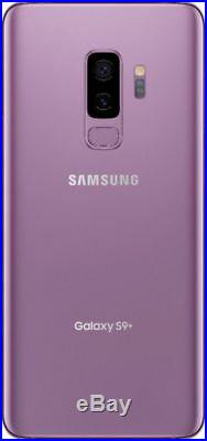 NEW Samsung Galaxy S9+ PLUS 64GG Black Purple Blue (SM-G965U1, Factory Unlocked)