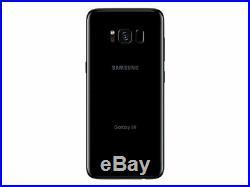 NEW UNLOCKED Samsung Galaxy S8 SM-G950U 64GB BLACK G950U T-MOBILE AT&T