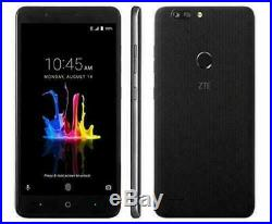 NEW Unlocked GSM ZTE BLADE Z MAX Z982 32GB Black T-MOBILE METRO PCS AT&T CRICKET