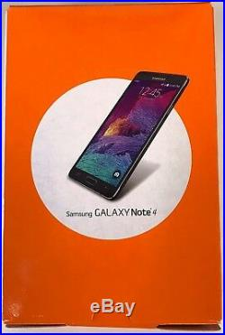 NEW boxed Samsung Galaxy Note 4 SM-N910A AT&T UNLOCKED 4G 32GB Smartphone
