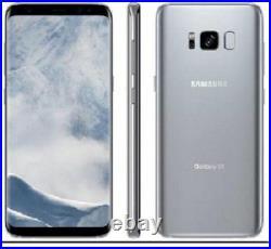 New Silver Samsung Galaxy S8 G950U 64GB Factory Unlocked T-Mobile AT&T Verizon