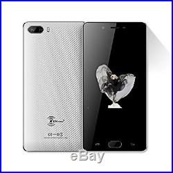 New Unlocked Android 7.0 Cell Phone Smart 4000+ Battery HD Camera Grey 5 inches