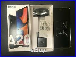 SAMSUNG A20 32GB BLACK Fully/Permanently UNLOCKED