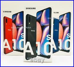 Samsung Galaxy A10S SM-A107M 32GB (GSM Unlocked) 6.2 4G LTE Black Blue Red
