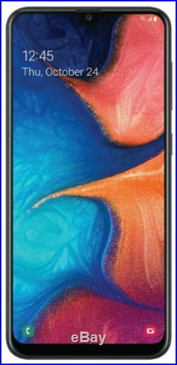 Samsung Galaxy A20 SM-A205U 32GB Black (Sprint T-mobile AT&T) Unlocked A stock